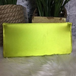 Vintage Neon Clutch Bag.